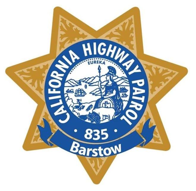The California Highway Patrol Barstow emblem.