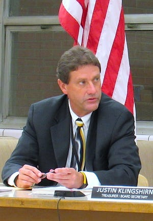 Cuyahoga Falls City Schools Superintendent Dr. Todd Nichols speaks during a board of education meeting that occurred before the COVID-19 pandemic. The district recently released a plan detailing how it would help students during the summer.