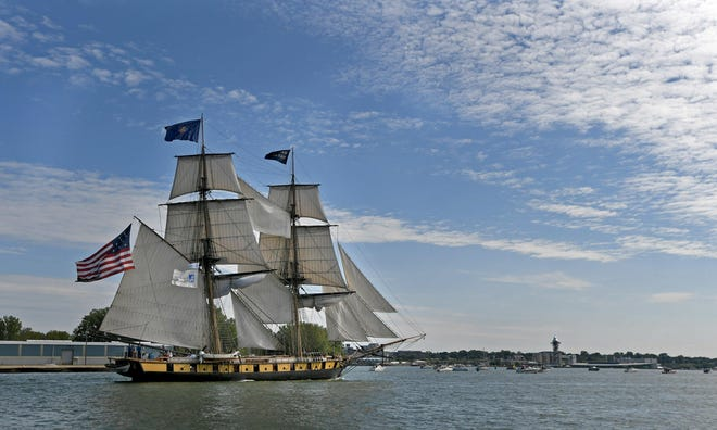 The sailing season for the U.S. Brig Niagara was officially called off Wednesday. Pennsylvania's flagship remains under wraps at its berth near the Erie Maritime Museum.