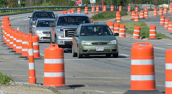 Twin bridges over Route 21 in Copley Township are scheduled to be replaced, beginning in 2022.