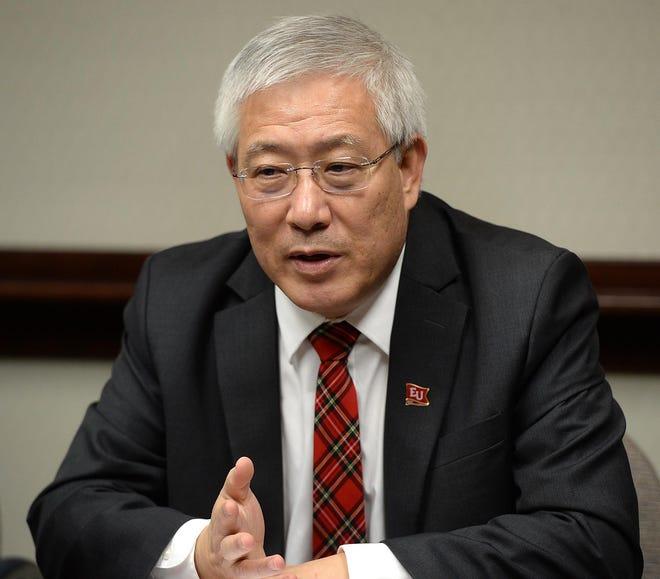Edinboro University of Pennsylvania President Guiyou Huang