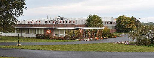 Eriez Manufacturing is headquartered on Asbury Road in Milclreek Township.