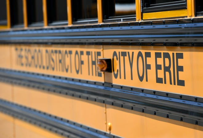The Erie School District on Feb. 1 plans to bring its 4,900 elementary school students back for hybrid learning, which includes in-person learning one week and online-only learning the next.