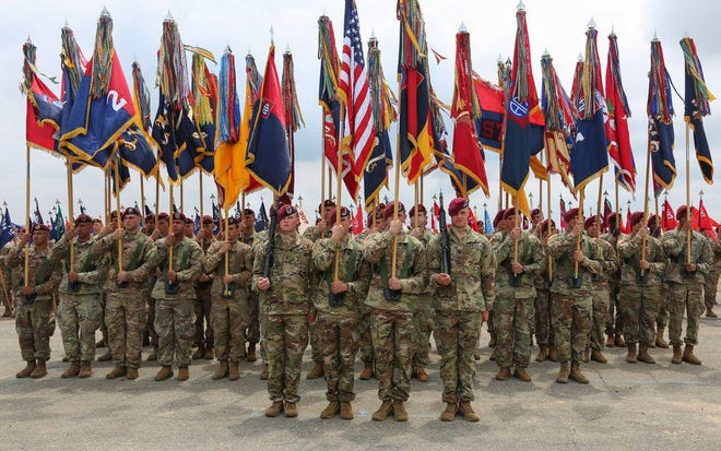 All American Week, which had been scheduled for the end of August and the beginning of September, is postponed because of the 82nd Airborne Divison's Immediate Response Force deployment to Afghanistan.