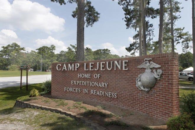 Camp Lejeune entrance