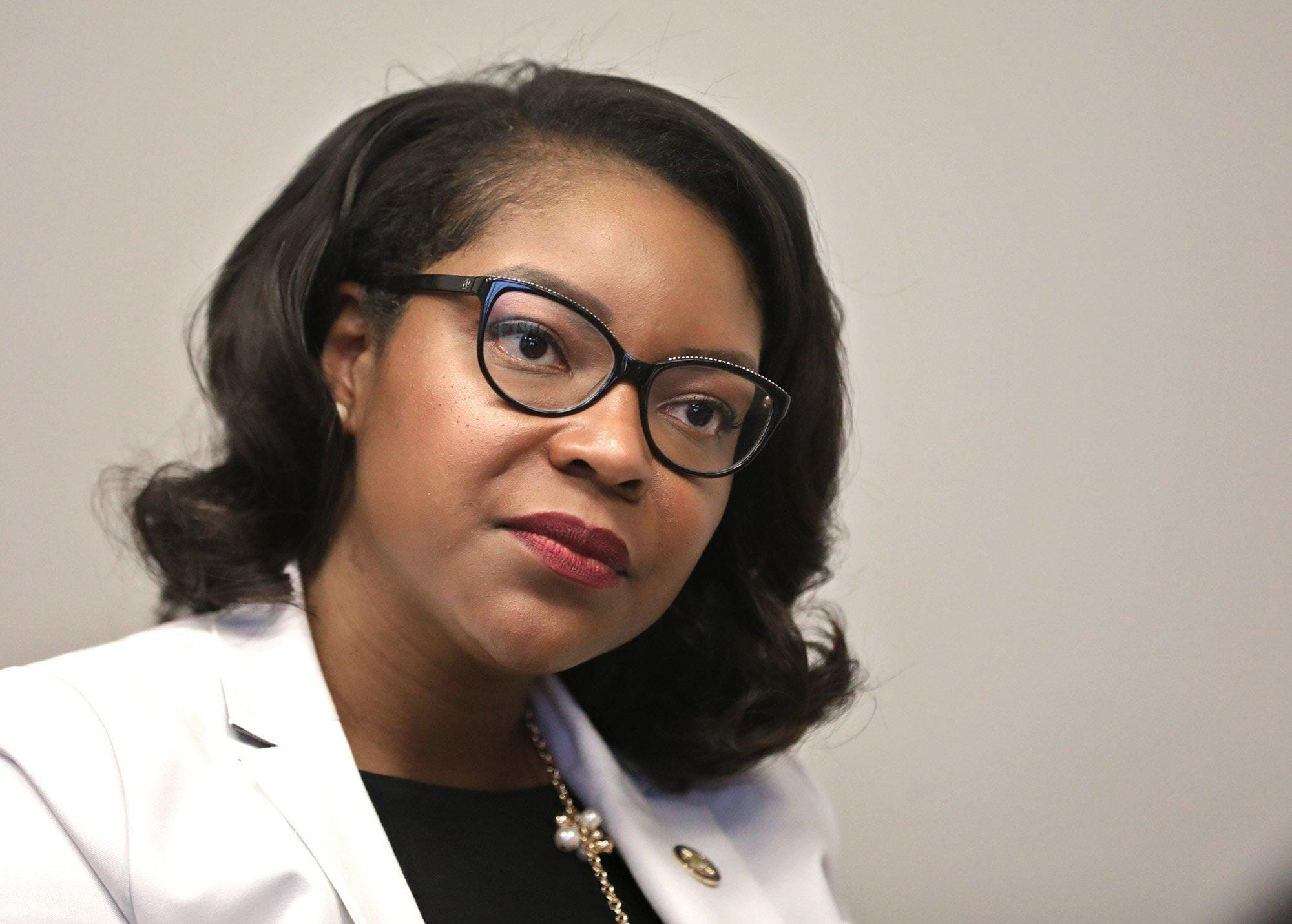 House Democratic Leader Emilia Strong Sykes, D-Akron.
