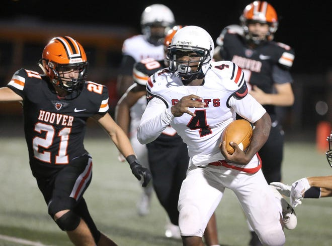 Kyree Young, 18, was identified as the victim in a fatal shooting Monday in Akron. He was a high school football standout and played at three local high schools.