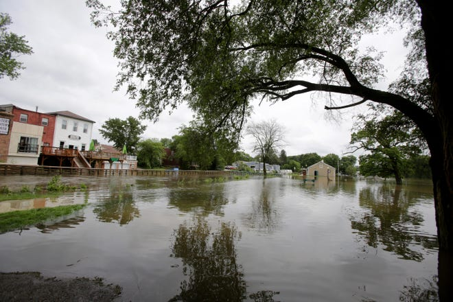 Flooding is an ongoing issues in several communities including Canal Fulton,  Louisville, Massillon and Navarre as shown in this 2019 photo.