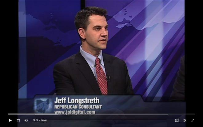 GOP political operative Jeff Longstreth talks about state politics during a 2013 panel interview. He would later work with Ohio House Speaker Larry Householder on what federal investigators are calling the largest bribery scandal in state history.