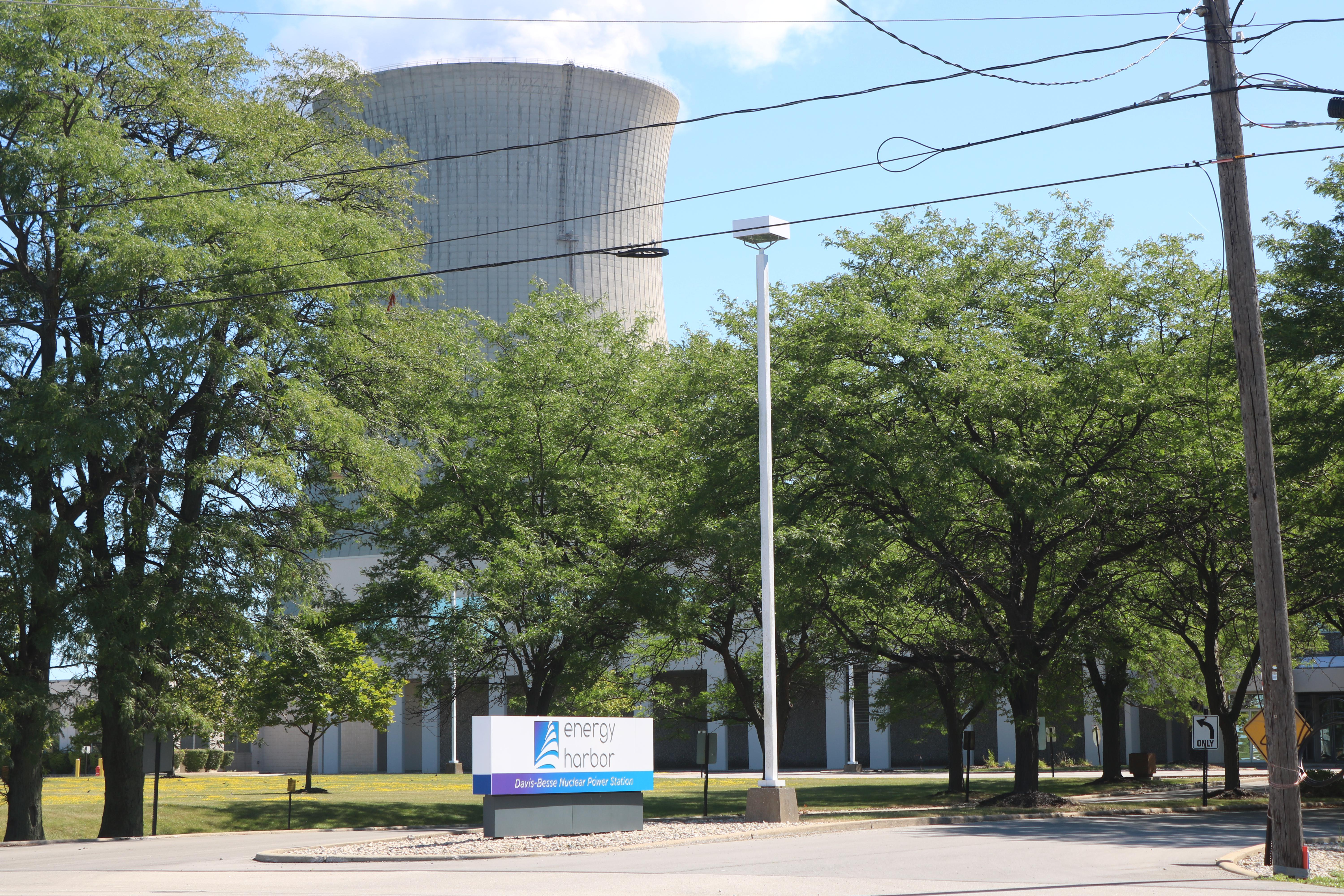 Akron-based Energy Harbor now owns the Davis-Bessie power plant near Port Clinton that is to benefit from House Bill 6 subsidies.
