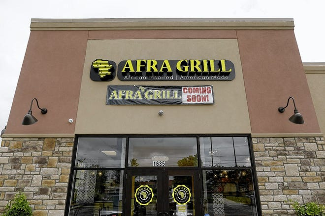 Afra Grill at 3922 Townsfair Way is one of six new businesses opening their doors in Easton Town Center. This is the location at 1635 Morse Road in Columbus.