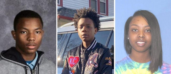 Adarus Black, Jaion Bivins and Janisha George have been charged in the fatal shooting of 18-year-old Na'Kia Crawford in Akron.