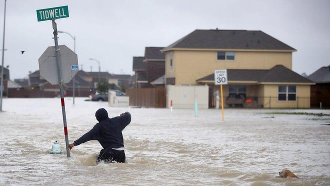 Hurricane Harvey hits Southeastern, Texas in August, 2017.