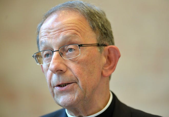 Erie Catholic Bishop Lawrence Persico has led the 13-county Catholic Diocese of Erie since October 2012. He was unavailable for comment on Wednesday, but the diocese said it is studying Pope Francis' endorsement of same-sex civil unions in a documentary.