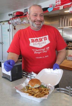 Josh Sines was co-owner of Bob's Hamburg in Akron.