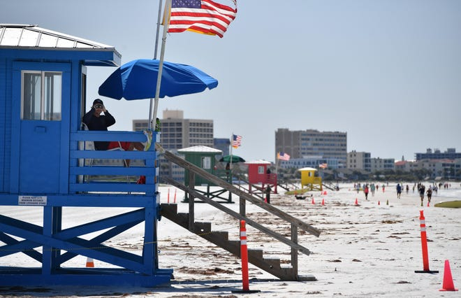 Despite a wet week so far, there's still hope for clearer weather during Fourth of July weekend for the weekend as people head to the beaches. According to the National Weather Service, Sarasota-Bradenton may see early morning showers off the of the Gulf on July 3 and July 4. However, the afternoons should be rain-free in time for holiday weekend celebrations.