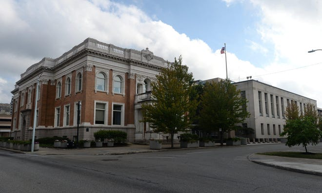 The U.S. District Courthouse in Erie. Senior U.S. District Judge David S. Cercone is based in Pittsburgh but also hears Erie cases.