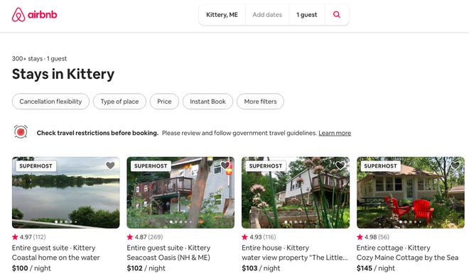 All short-term rentals currently operating in Kittery must be licensed with the town by midnight on Dec. 31, or will face a $250 fine per day.