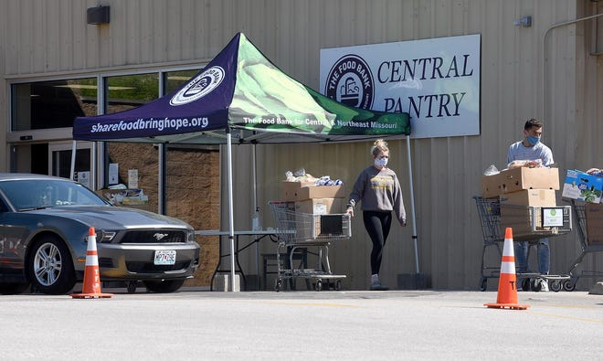 The Central Pantry of the Food Bank of Central and Northeast Missouri, pictured here on Big Bear Boulevard, will be moving. Its new location will be the Moser's grocery story on Business Loop 70 West, as that business also will relocate. Veterans United Foundation will make a major donation to Central Pantry for this move Wednesday.