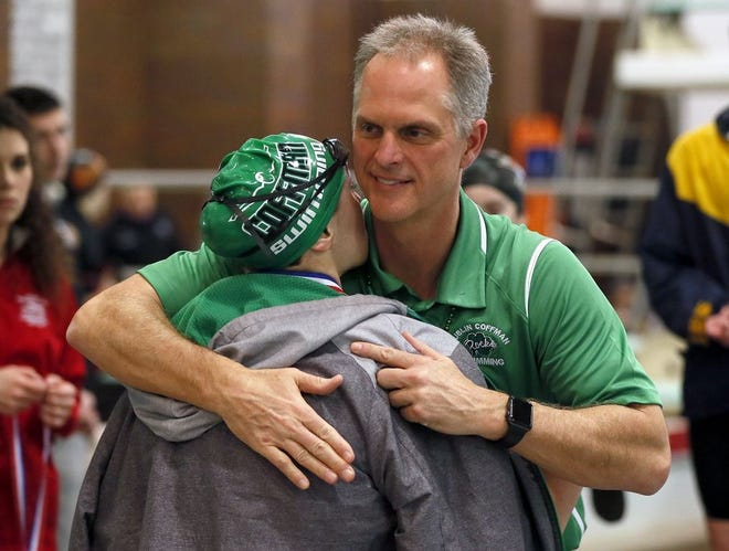 Steven VonSchriltz, ThisWeek's overall Coach of the Year, led the Dublin Coffman girls swimming and diving team to its first state championship despite having only six competitors in the Division I meet.