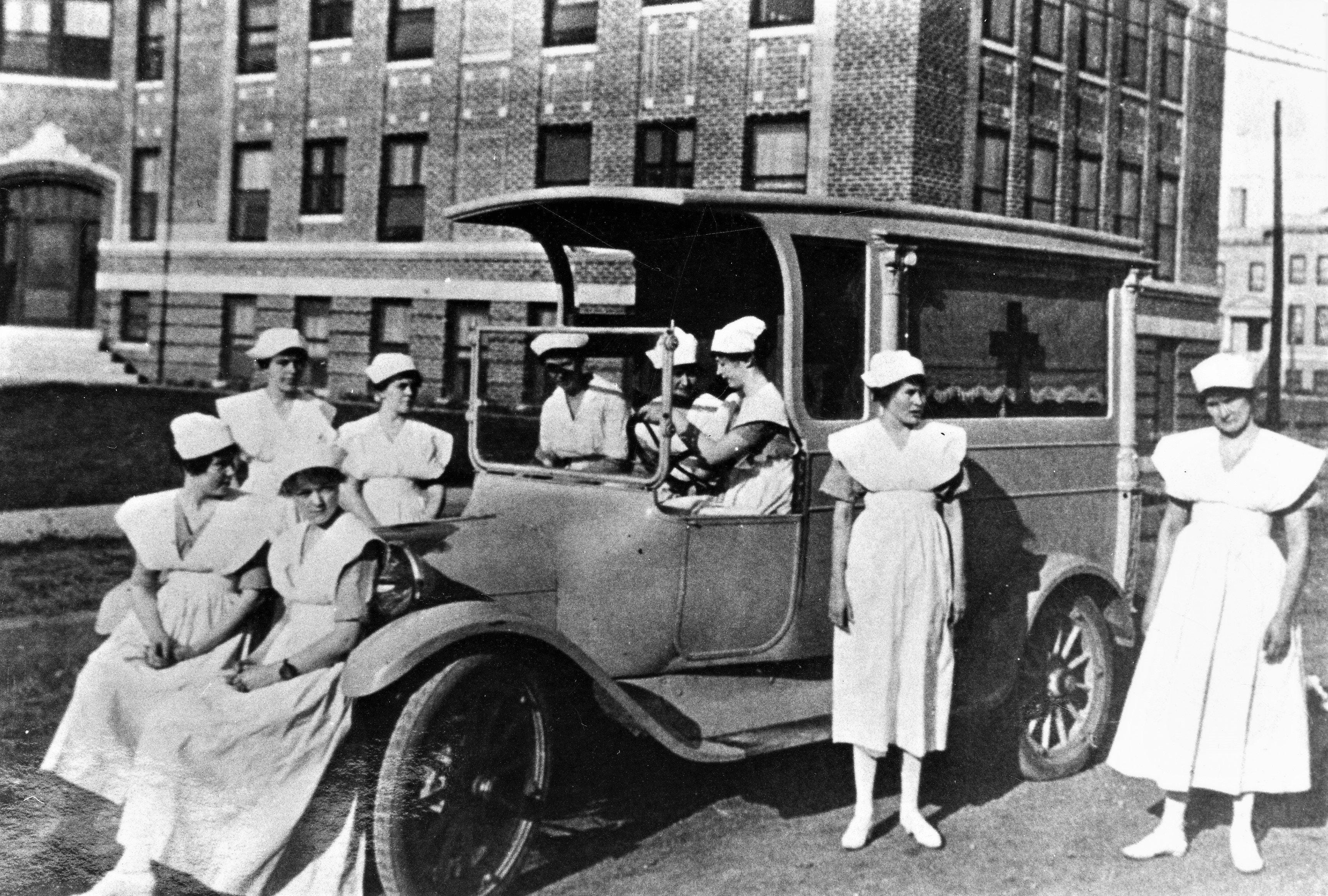 All Texas cities and many small towns responded to the flu pandemic of 1918-19 with masking, social distancing, quarantining and washing hands. They also shut down for varied lengths of time. Health facilities and personnel, such as the Lubbock Sanitarium, shown, were stretched to their limits.