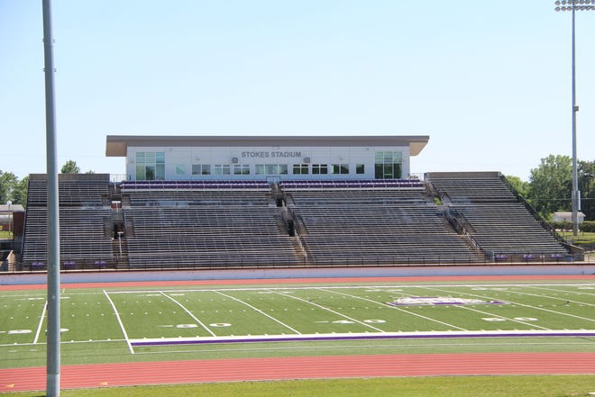 Daily Express file photo of Truman's Stokes Stadium.