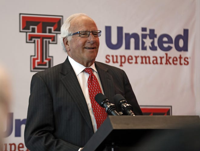 Robert Taylor, CEO of The United Family, urged shoppers to help support area schools by supporting the store chain's annual school supply fundraiser now through Aug. 11.