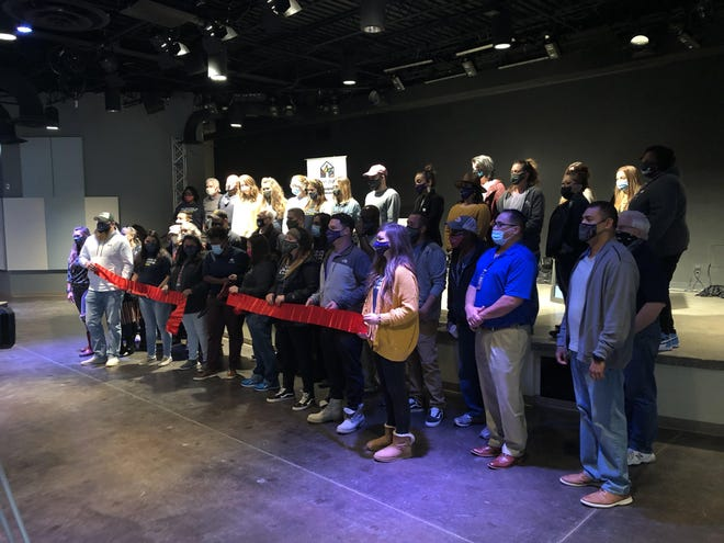 Open Door hosted a ribbon cutting ceremony last fall to celebrate the expansion of their permanent supportive housing program.