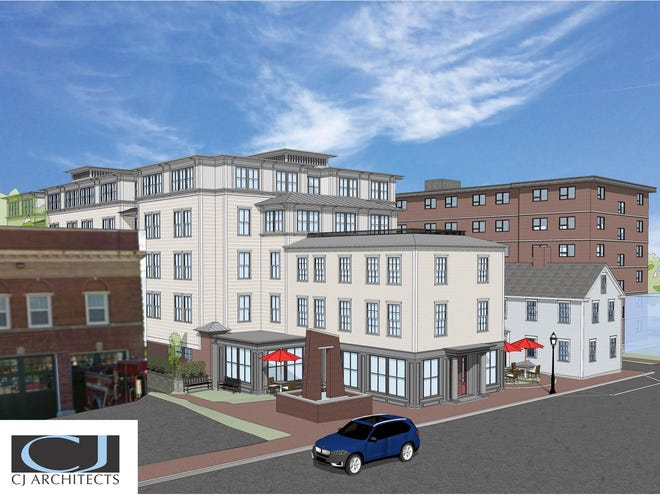 The Portsmouth Housing Authority is building a workforce housing apartment building off Court Street between Central Fire Station and the PHA's Feaster Apartments.
