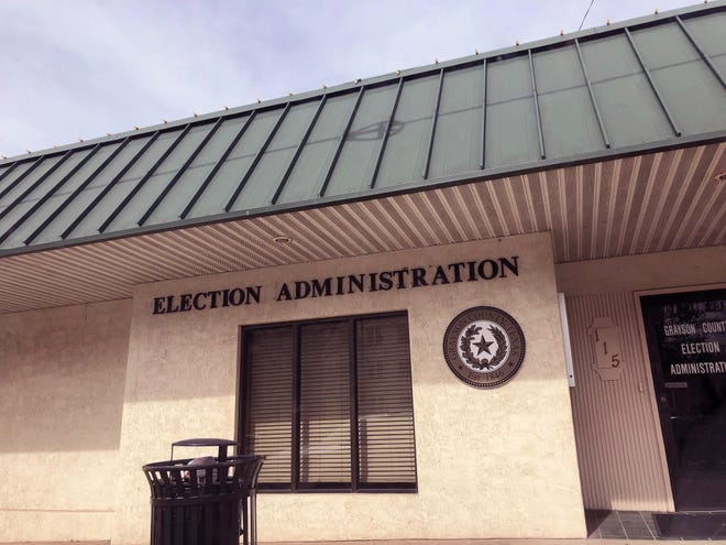 Area residents can vote at any one of the voting centers in the county.