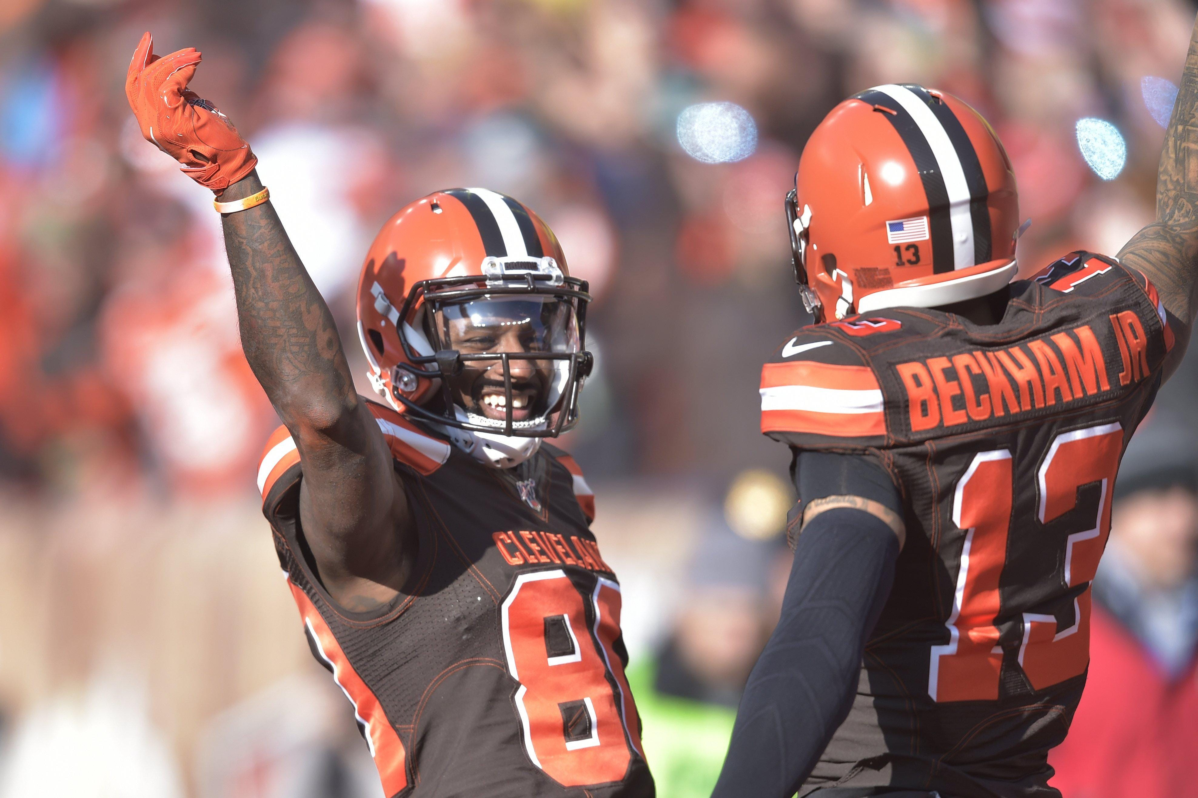 Browns' Jarvis Landry pushes back on idea that Baker Mayfield is better off without Odell Beckham Jr.