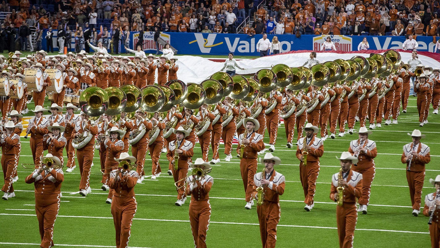 University of Texas' Longhorn Band will be required to play 'The Eyes of Texas'
