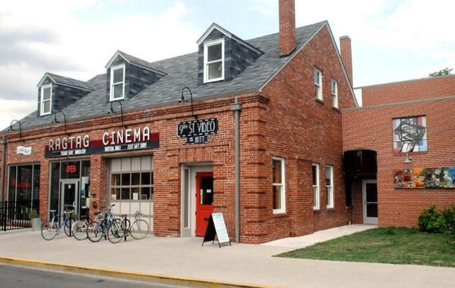 This file photo shows the Hittsville complex, which houses Ragtag Cinema, Uprise Bakery and, now, Hitt Records in the former 9th Street Video space.