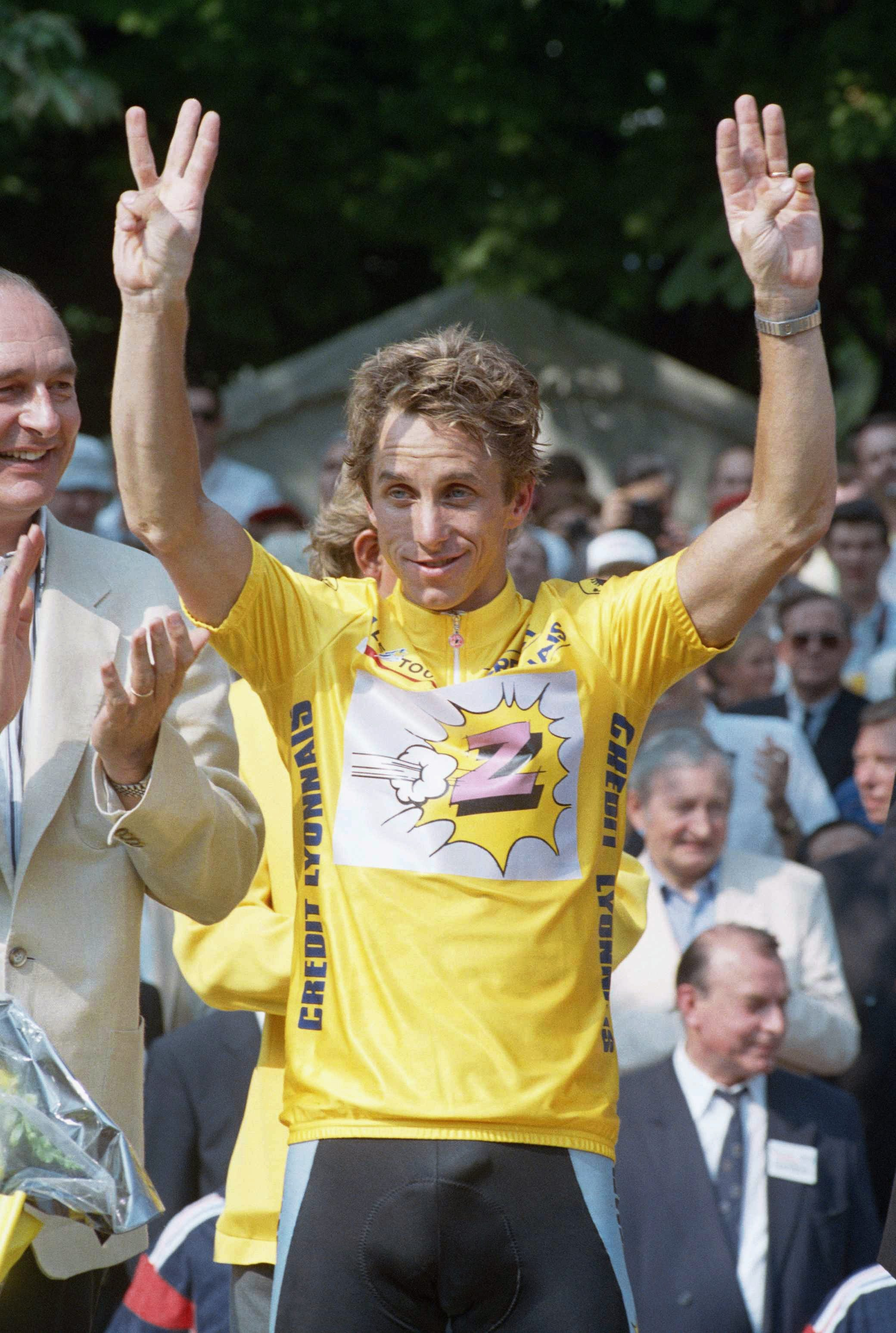 American cyclist Greg LeMond receives Congressional Gold Medal