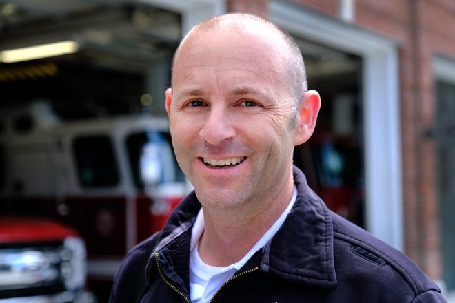 Portsmouth Fire Chief Todd Germain