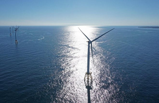 Ørsted U.S. Offshore Wind owns the wind turbines off Block Island.
