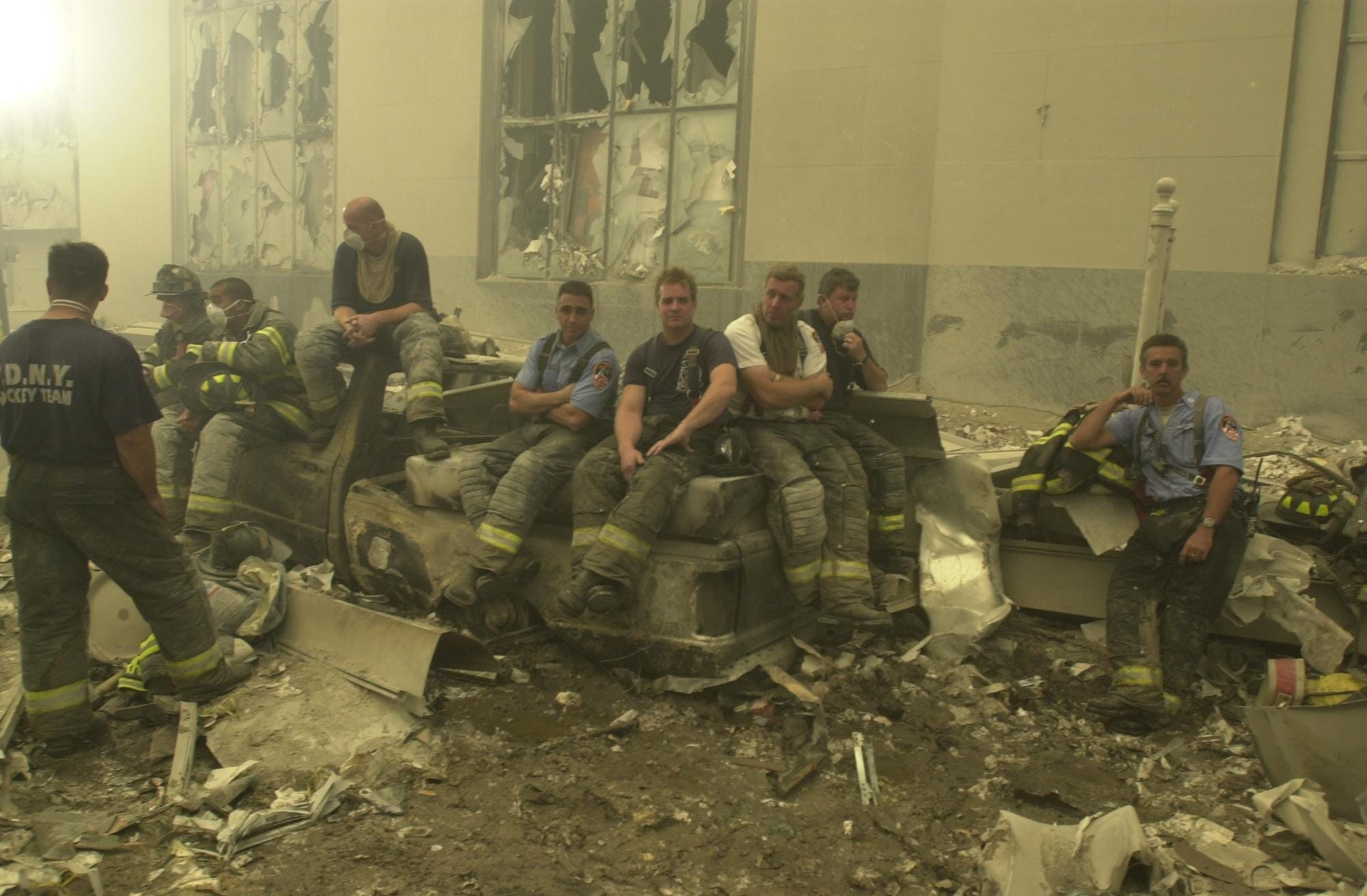 Retired NYPD officers: We dug through the World Trade Center rubble, looking for our brothers