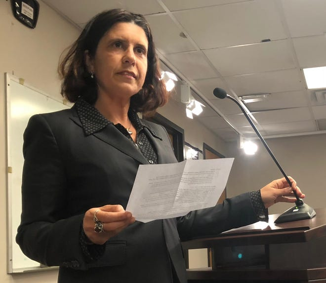 The executive director of Seacoast Black Lives Matter is calling on selectmen to investigate Selectman Regina Barnes for violating the town's code of ethics.
