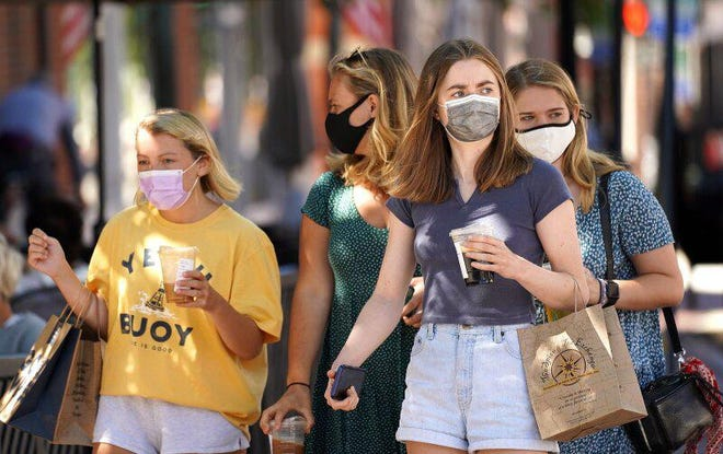 Masks have become common and required in Portsmouth and across the nation.