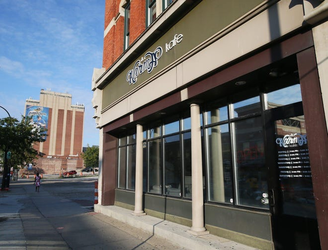 Karma Kafé on South Main Street in Akron was cited early Saturday for violating Gov. Mike DeWine's July 31 coronavirus directive on alcohol sales.