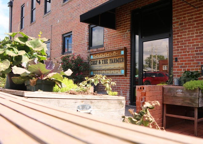 The Chef & the Farmer, located at 120 W. Gordon St. in downtown Kinston, will offer patio pop-up events on Fridays and Saturdays for the community to enjoy Howard's cuisines outside.