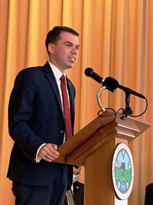 Gardner Mayor Michael Nicholson