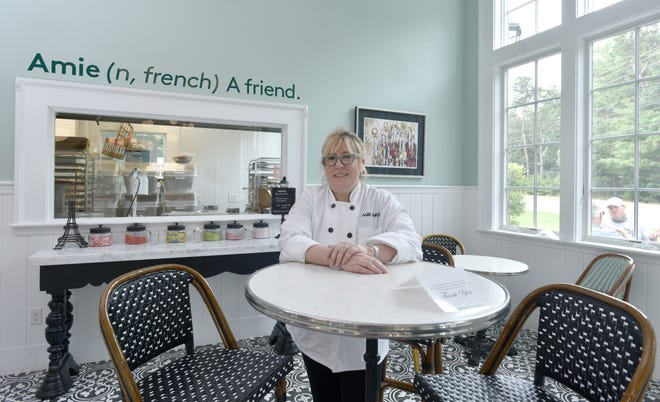 Following a year of postponements due to the pandemic, weddings and other special events are back on, keeping Amie Smith and the staff of Amie Bakery very busy this year.