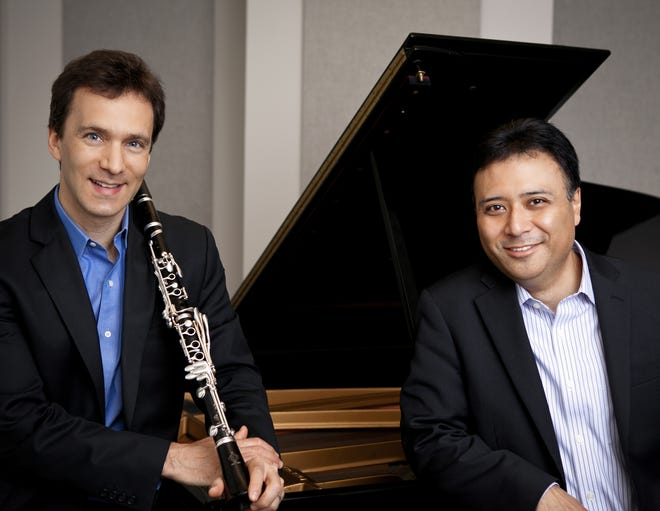 Jon Manasse, left, and Jon Nakamatsu are artistic directors of the Cape Cod Chamber Music Festival, and will also perform concerts this season.