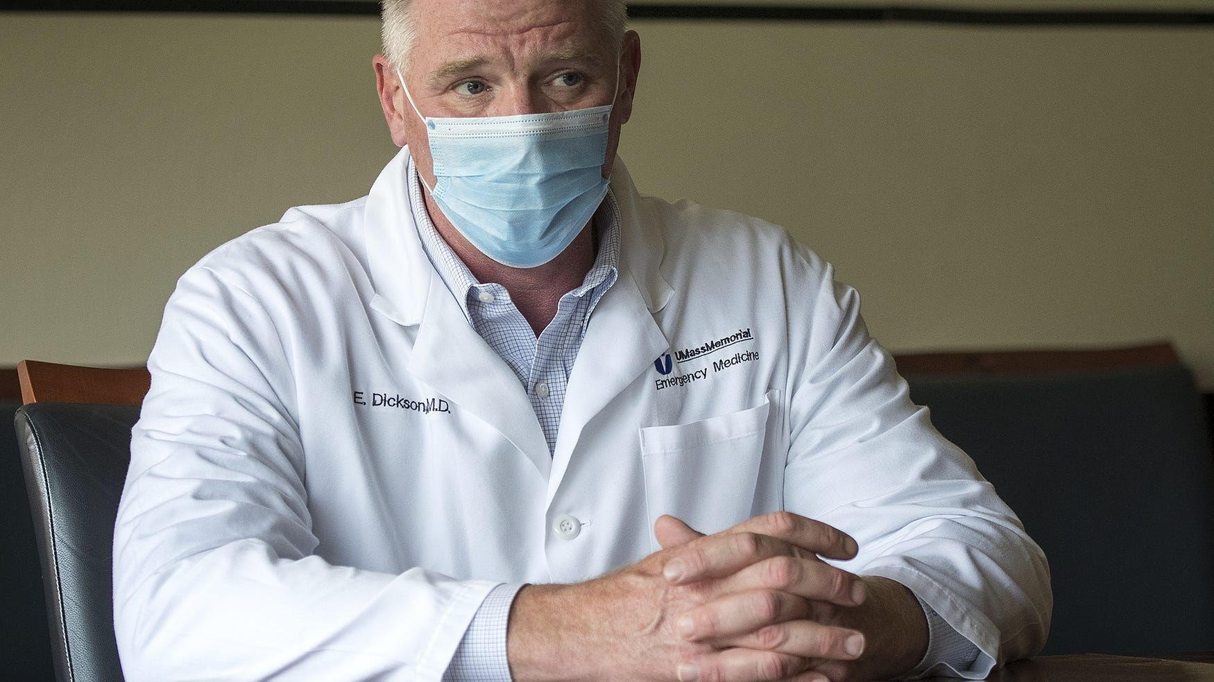 UMass CEO Dr. Eric Dickson Mass General Brigham expansion cost of care
