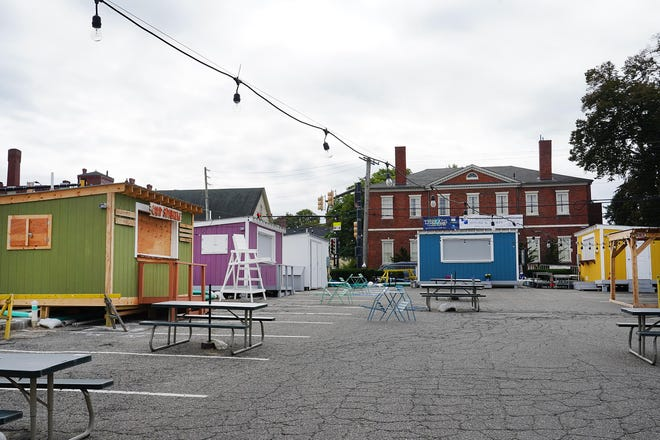 The PopUp NH venue was for Portsmouth restaurants, breweries and retailers to stretch their economic reach during the COVID-19 pandemic.