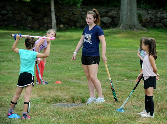 Piper Hampsch, Hopedale High's starting field hockey goalkeeper for the past five seasons, will attend Duke University in the fall.
