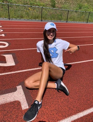 Sydney Masciarelli of Northbridge again ruled on the track, in her final race before heading for the University of North Carolina.