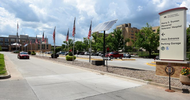 The Mid-Missouri Fisher House will offer temporary housing for veterans arriving in Columbia for treatment at Harry S. Truman Memorial Veterans' Hospital, shown here. Organizers plan to be operational by 2022, with the house located on the hospital campus.