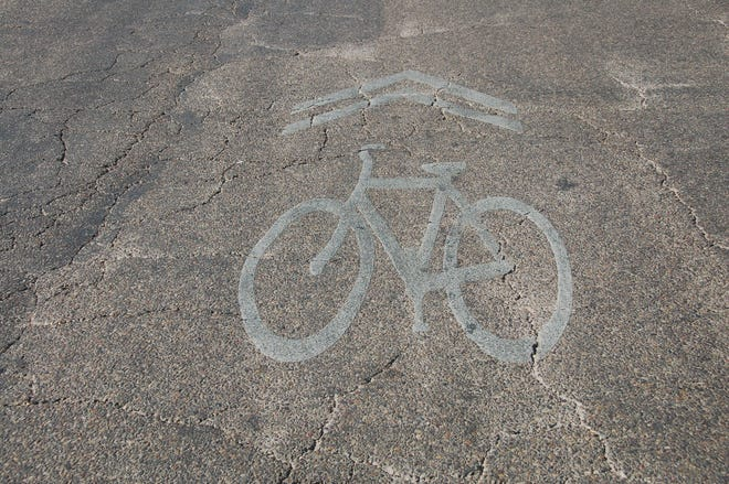 The Pedestrian and Bicycle Safety Advisory Committee indicated of the 100 miles of bike routes and bike lanes established by the 2011 Hike and Bike Master Plan - 23 percent include dedicated bike lanes and 77 percent are share rows consisting of bike symbols painted on pavement.
